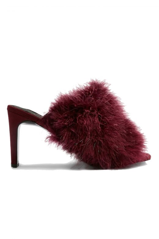Click to Buy Topshop Feather Mules