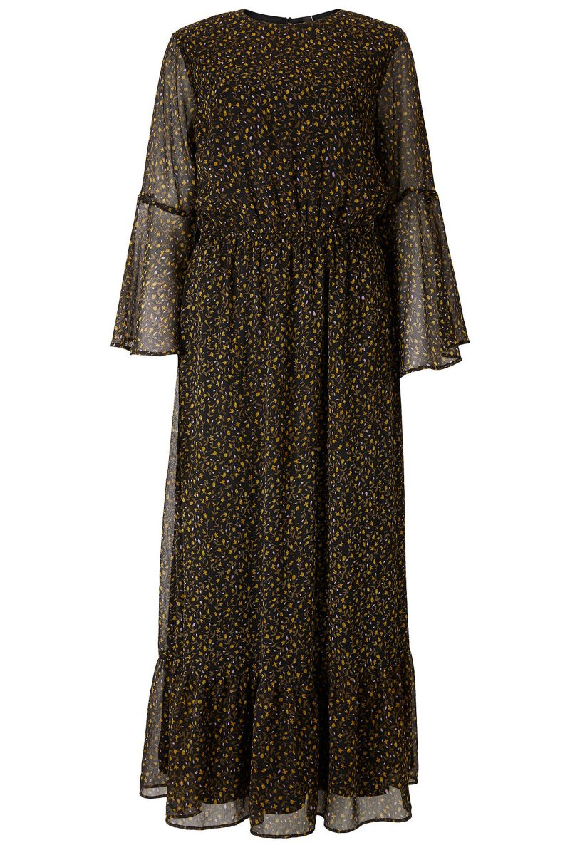 Click to Buy Y.A.S Peque Flared Maxi Dress
