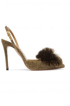 Click to Buy Aquazzura-Powder-Puff-Gold-Heels