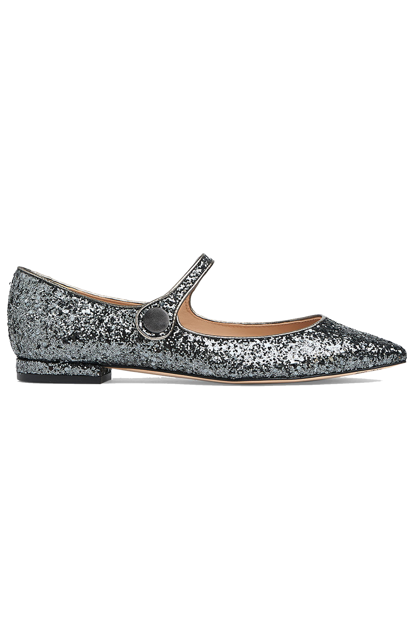 1e04f86c6a92 Buy L.K.Bennett Mary Jane Flat Shoes in Charcoal Glitter Online