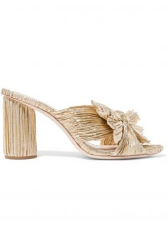 Click to Buy Loeffler-Randall-Gold-Mules