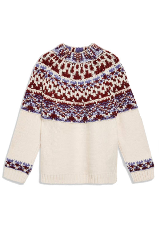 Click to Buy Topshop Reverse Fair Isle Jumper