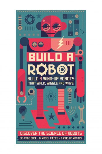 Click to Buy Build A Robot Activity Book