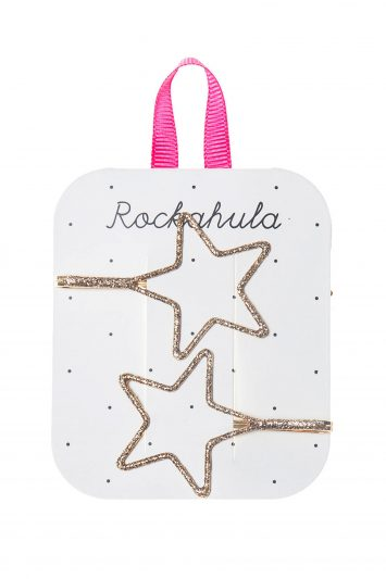 Click to Buy Cut Out Star Hair Slides, Pack of 2,