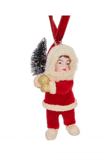 Click to Buy Ruby Tree Child Tree Decoration