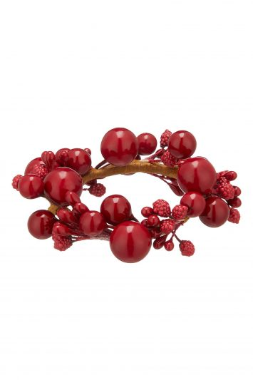 Click to Buy John Lewis Ruby Berries Napkin Rings