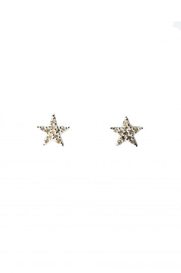 Click to Buy Kirstie Le Marque Sterling Silver Star Stud Earrings