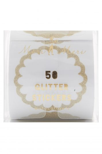 Click to Buy Meri Meri Gold Glitter Stickers