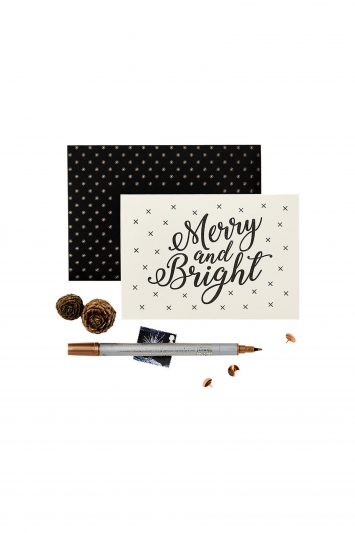 Click to Buy Katie Leamon Merry & Bright Christmas Card