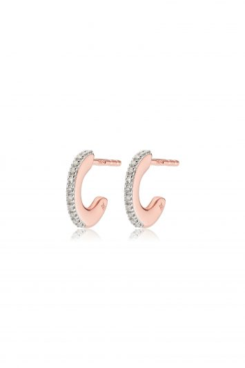 Click To Buy Monica Vinader Fiji Small Skinny Hoop Diamond Earrings