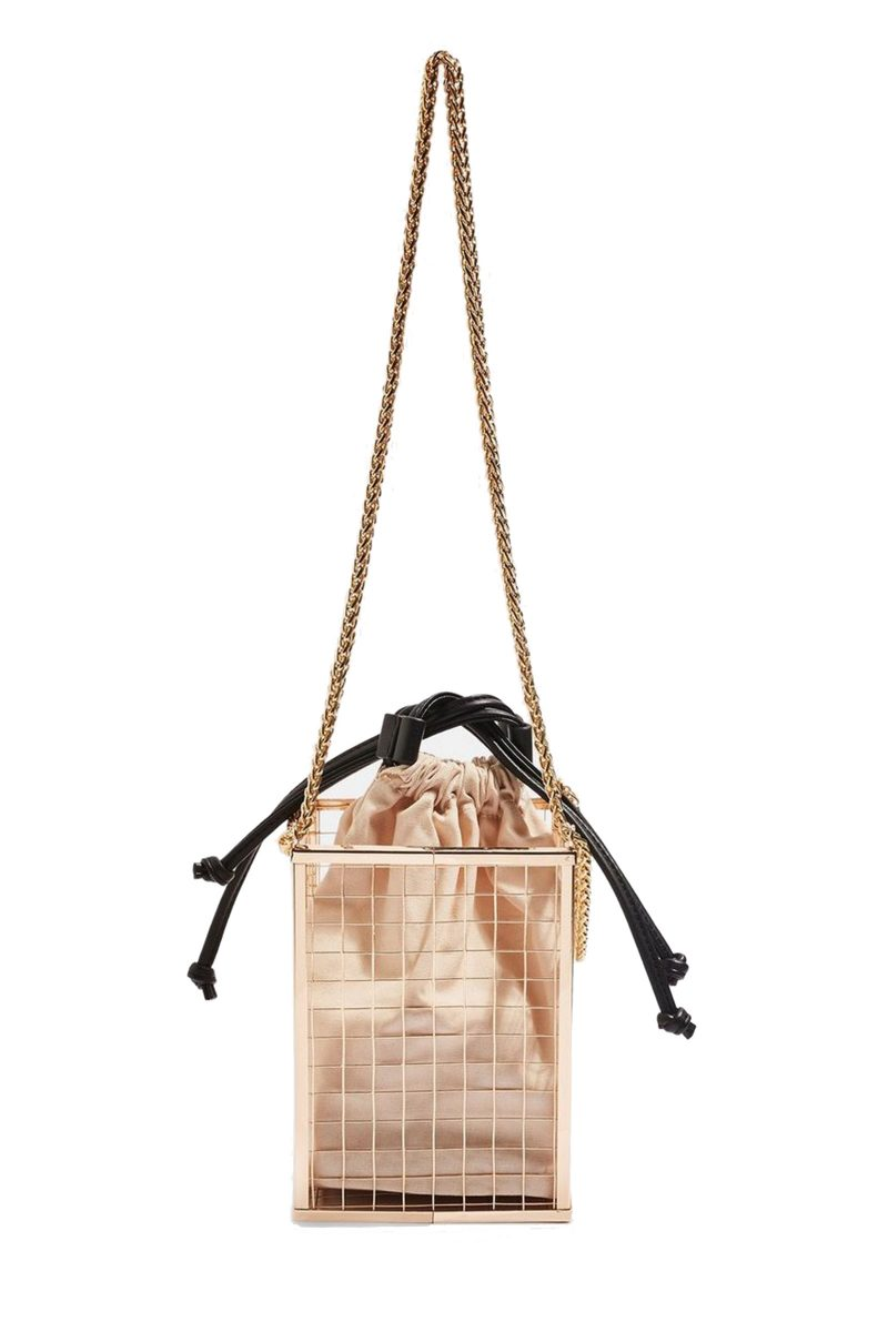 Click to Buy Topshop Cara Cage Cross Body Bag