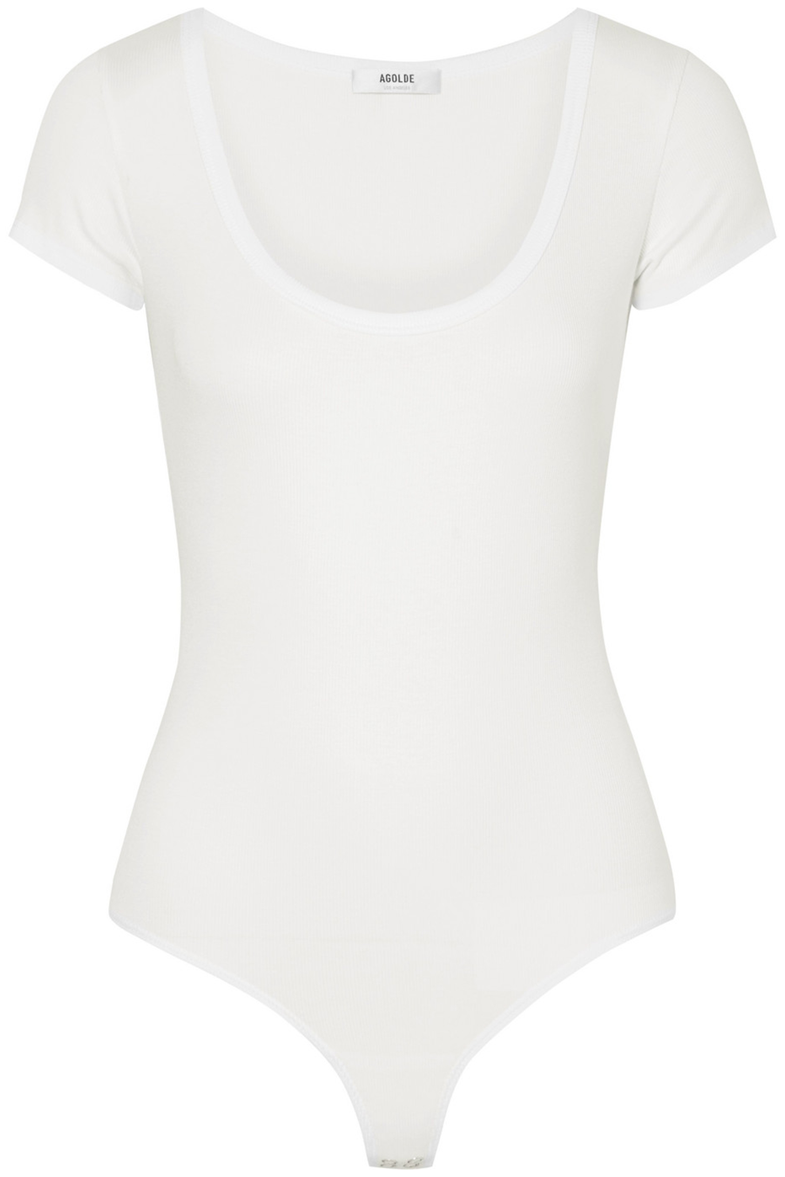AGOLDE-White-Stretch-Jersey-Bodysuit