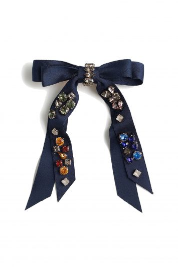 Click to Buy J. Crew Embellished bow barrette