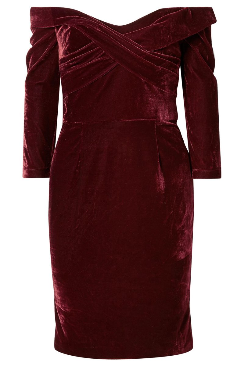 Click to Buy Marchesa-Notte-Velvet-Dress