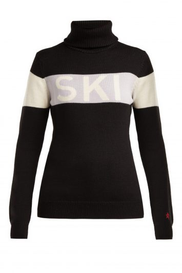 Click to Buy Perfect Moment Ski Roll-neck Wool Sweater