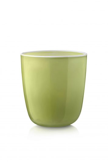 Click to Buy Summerill & Bishop Handblown Bumba Glass in Apple Green