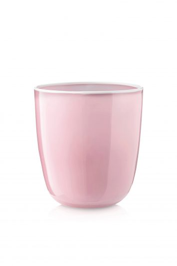 Click to Buy Summerill & Bishop Handblown Bumba Glass in Rose Pink