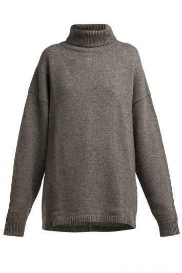 Click to Buy Tibi Roll-neck Cashmere Sweater