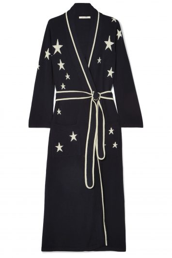 Click to Buy Chinti & Parker Star cashmere robe