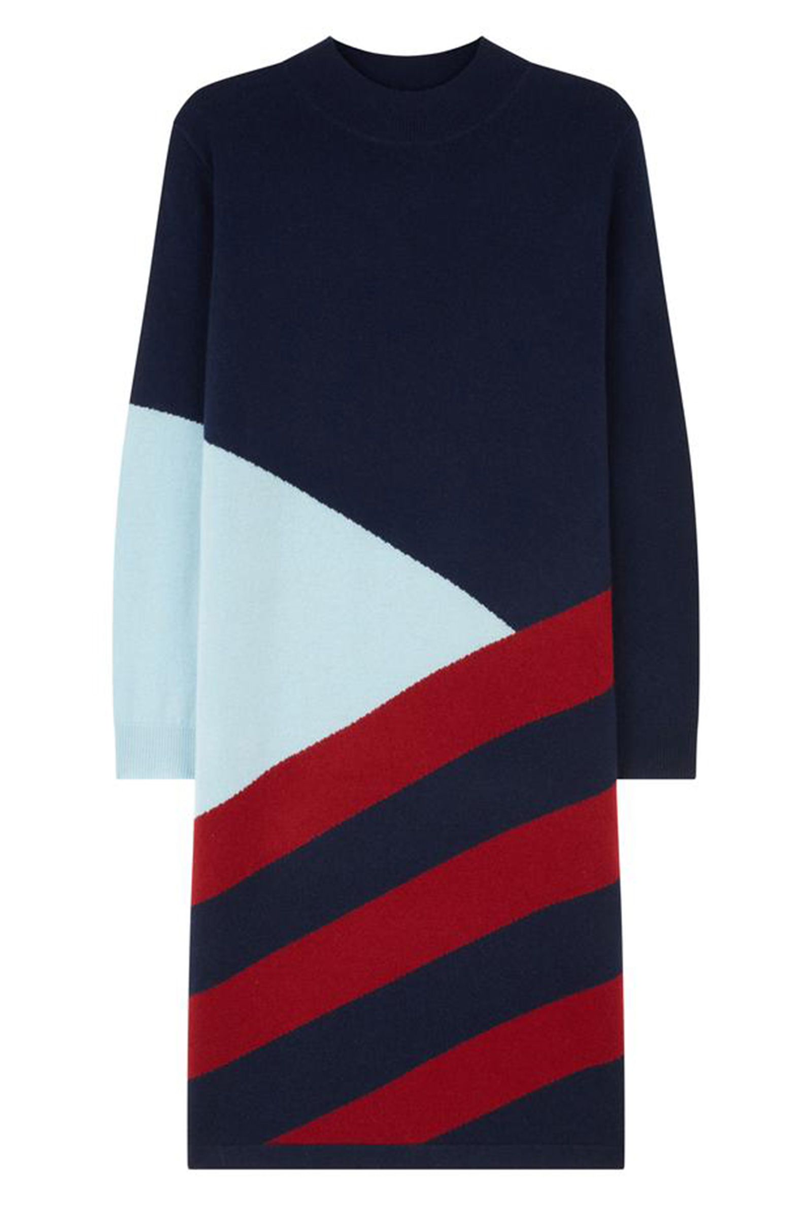 Click to Buy Chinti & Parker Navy Mexicano Turtle Neck Dress