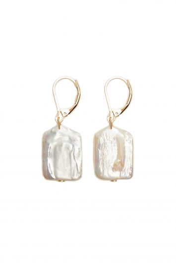 Click to Buy Mango Natural Pearl Earrings