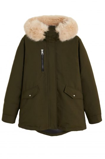Click to Buy Hooded Water-repellent Parka