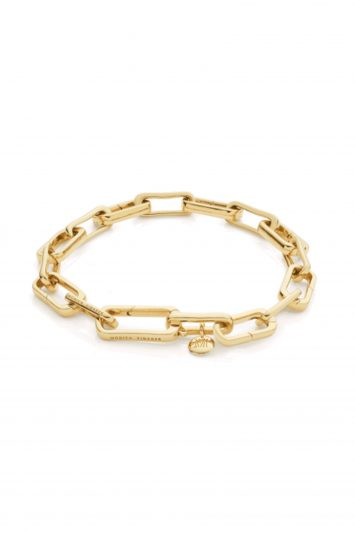 Click to Buy Monica Vinader Alta Capture Charm Bracelet