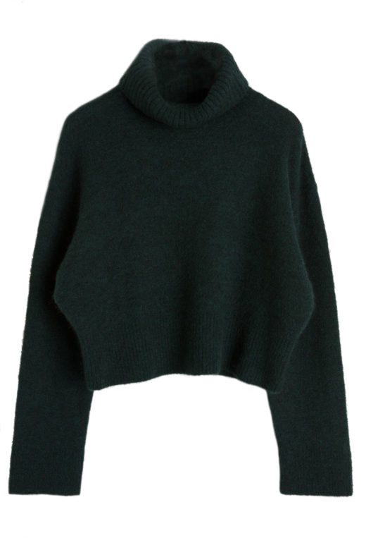 Click to Buy & Other StoriesWool Blend Turtleneck Sweater