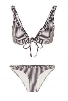 Click to Buy Solid & Striped The Milly Stretch-seersucker Bikini Set