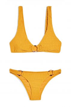 Click to Buy Topshop Tortoiseshell Ring Triangle Bikini Set