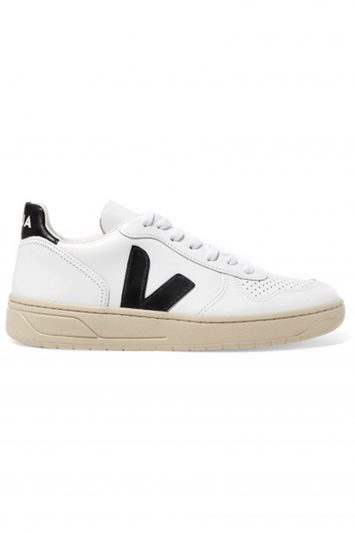 Click to Buy Veja V 10 Leather Sneakers
