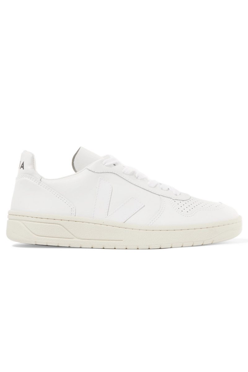 Click to Buy Veja White Trainers