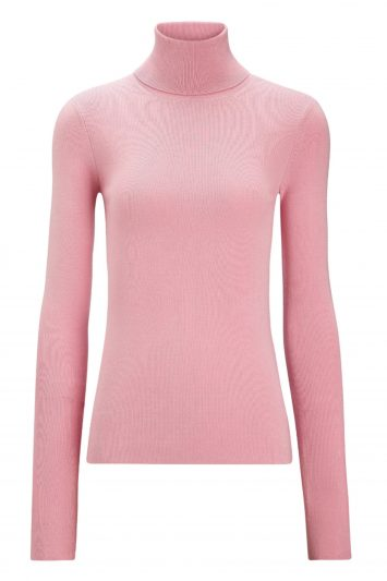 Click to Buy Joseph-Pink-Roll-Neck