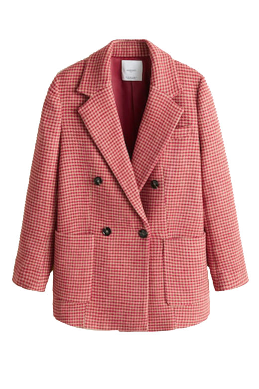 Click to Buy Mango-Houndstooth-Coat