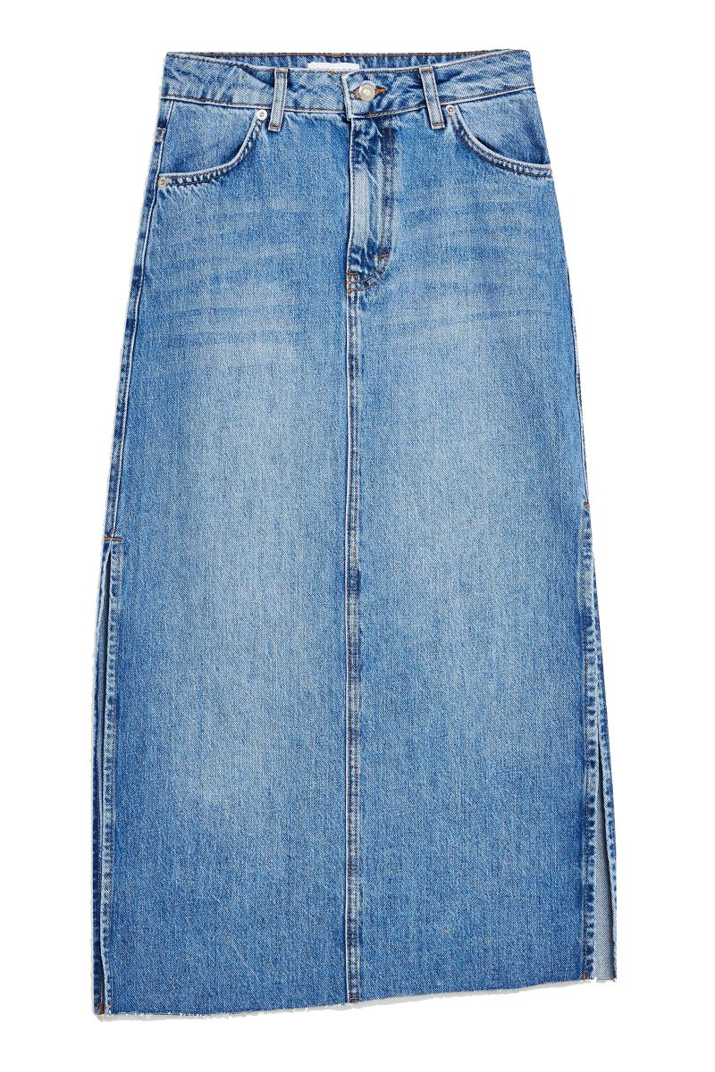 Click to Buy Topshop-Denim-Skirt