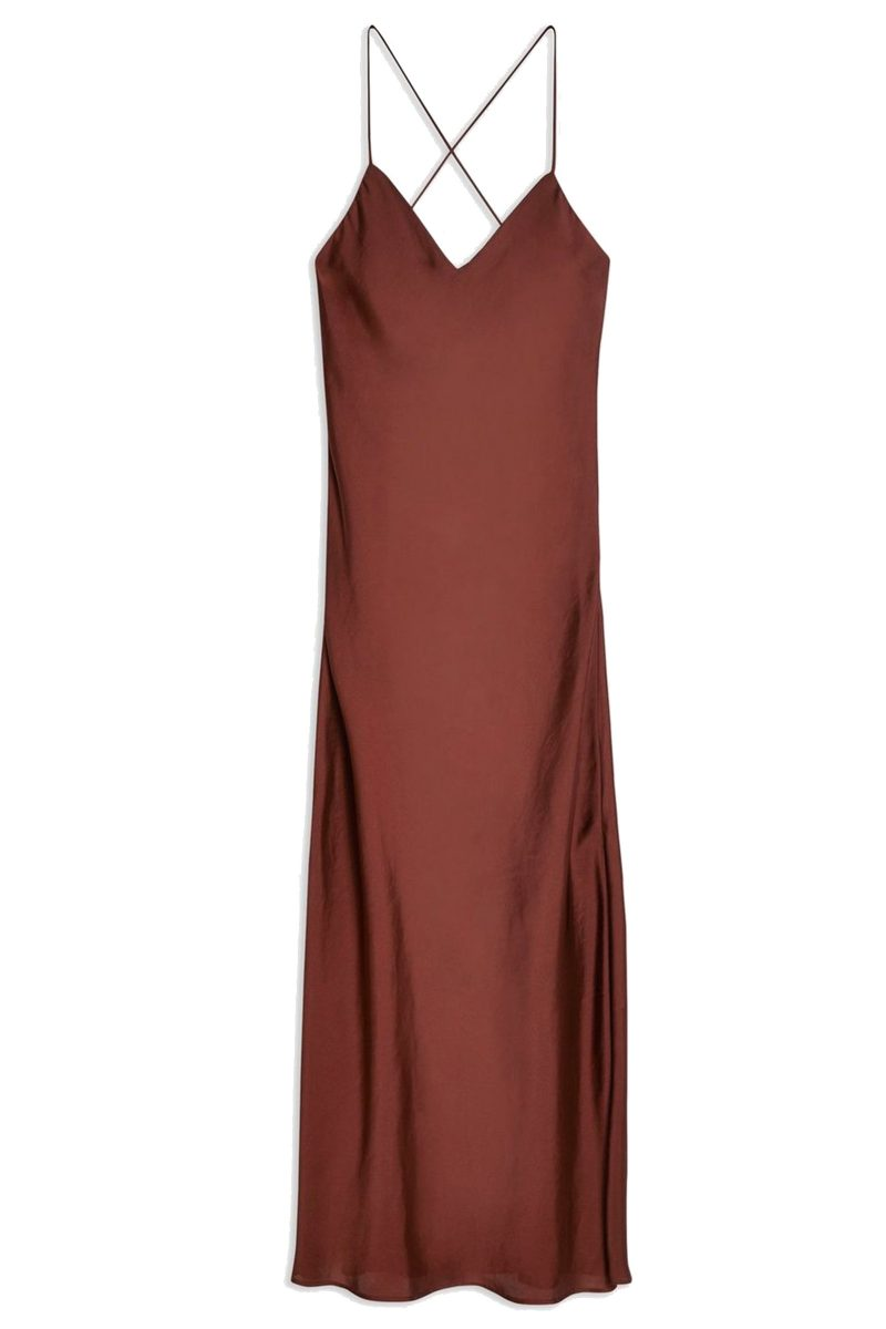 Click to buy Topshop Satin Dress