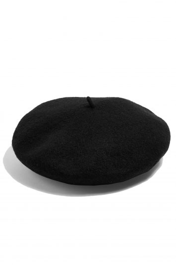 Click to Buy Topshop Black Beret