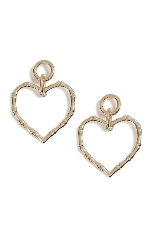Click to Buy Topshop Heart Earrings