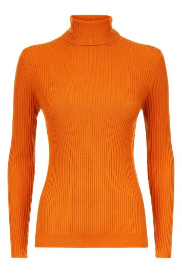 Click to Buy Jaeger-Orange-Knit