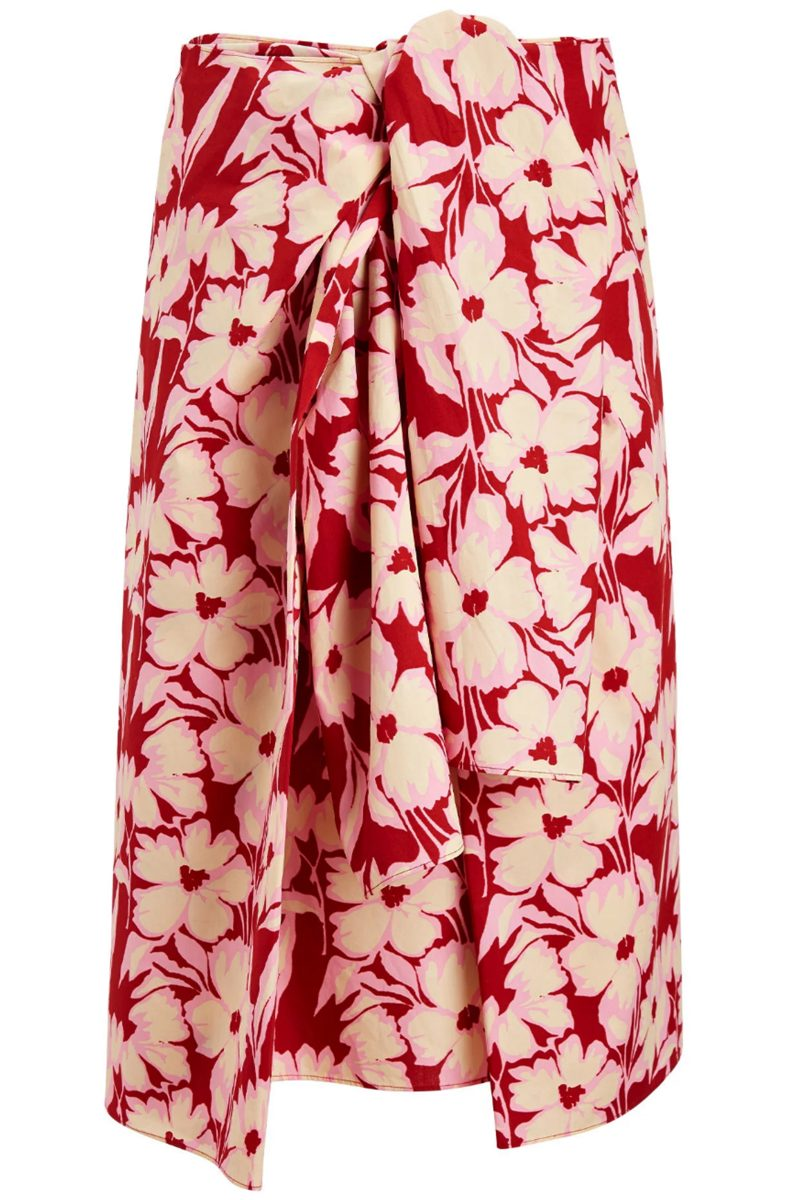 Click to Buy Joseph-cotton-print-skirt