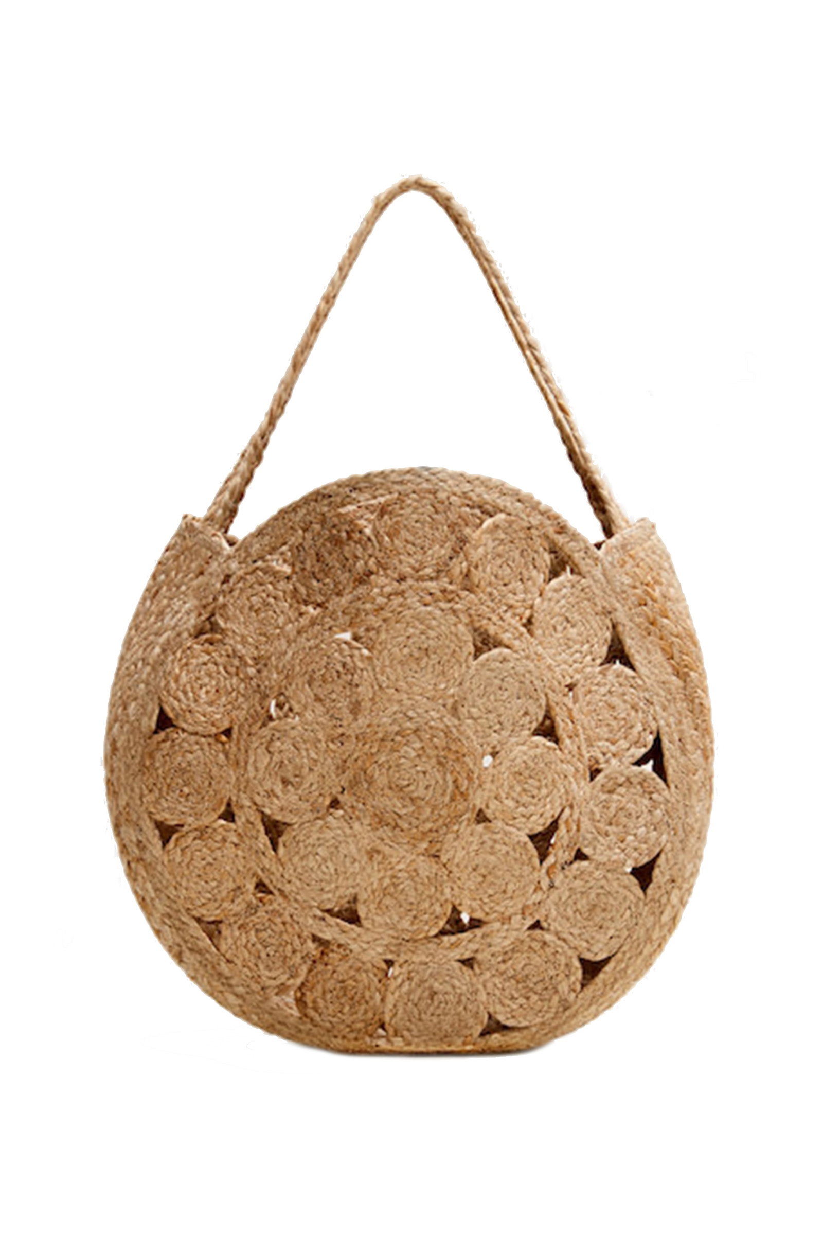 Click to Buy Mango Jute Shopper Bag