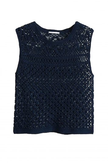 Click to Buy Mango-crochet-top
