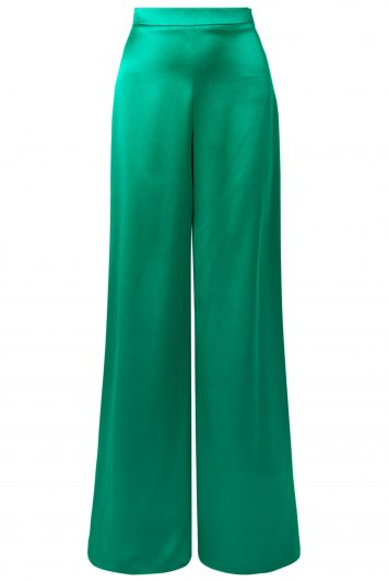 Click to Buy Satin-Green-Trousers