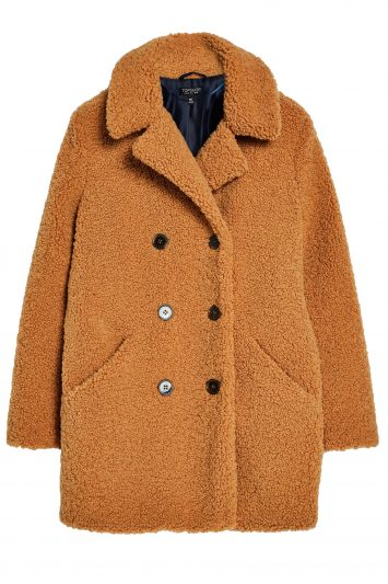 Click to Buy Topshop-Brown-Borg-Coat