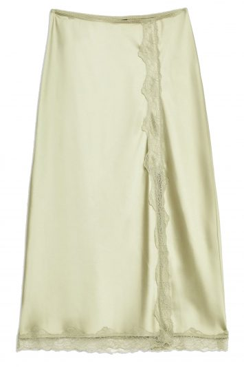 Click to Buy Topshop-Satin-Skirt