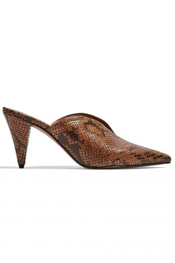 Click to Buy Topshop Snake Print Mules