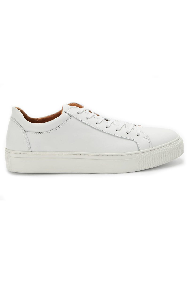 Click to Buy Selected Femme White Trainers
