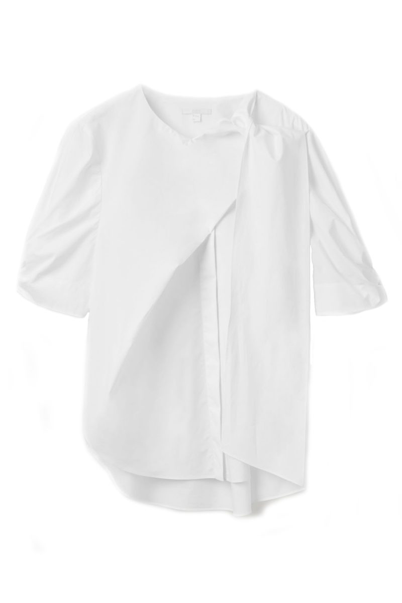 Click to Buy COS White Shirt