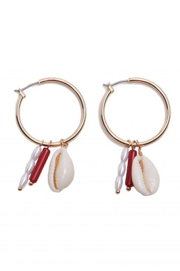 Click to Buy Mango Hoop Earrings