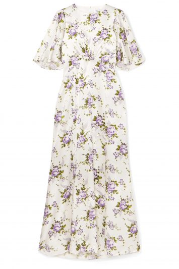 Click to Buy Les-Reveries-Floral-Maxi-Dres